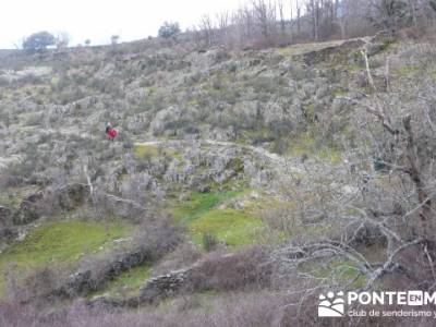 Cascadas del Aljibe;actividades para singles en madrid;senderismo alcala de henares